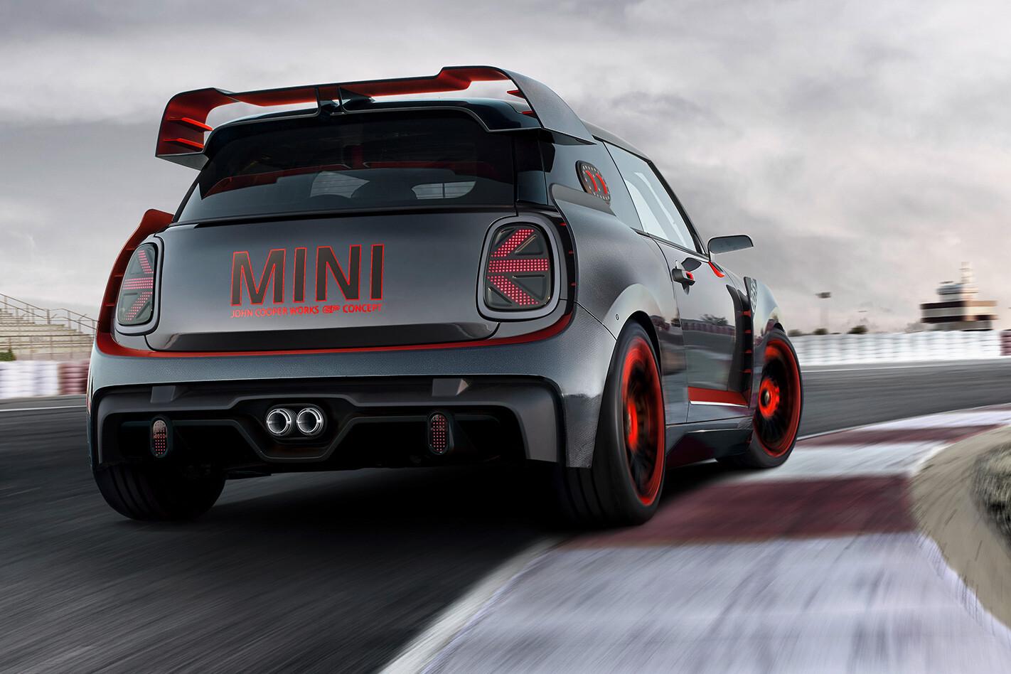 Mini John Cooper Works GP Concept rear