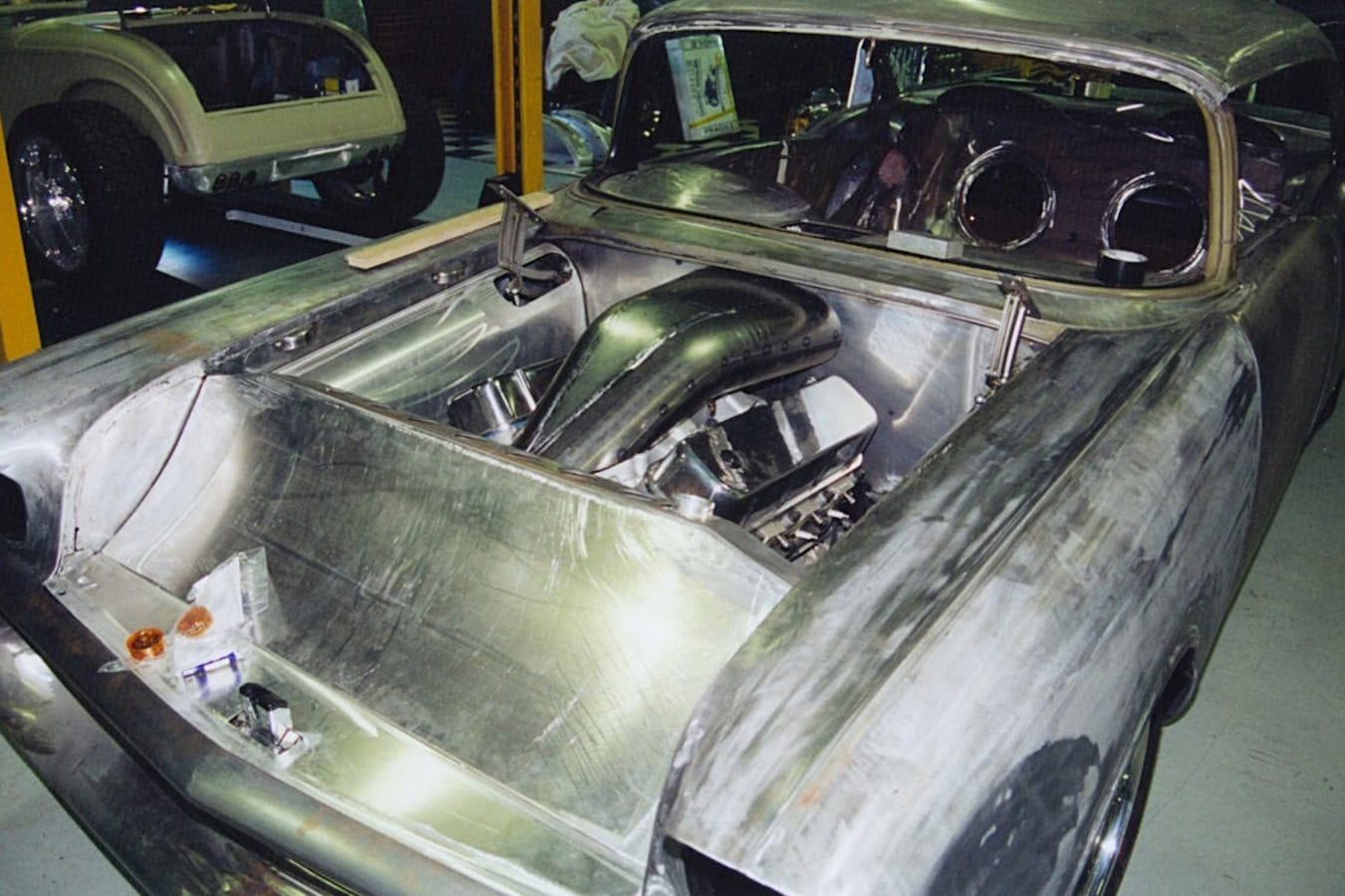 Chev Bel Air in the build