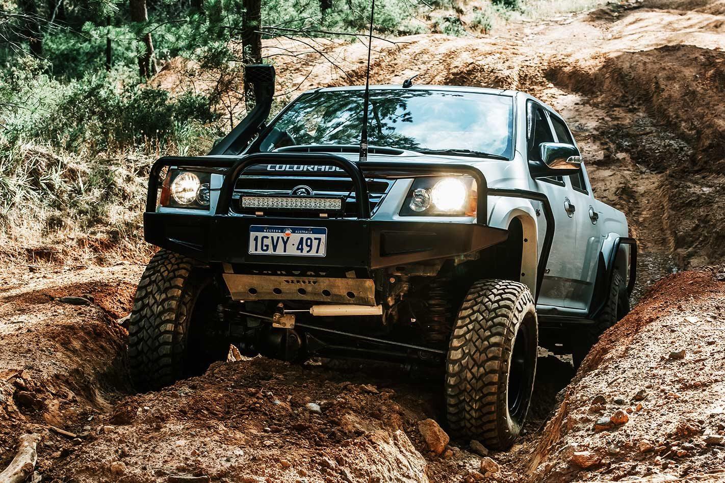 SAS-style custom Holden Colorado review