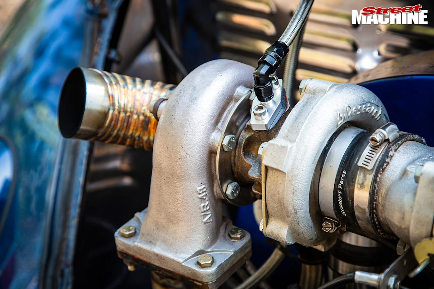 VW Beelte engine