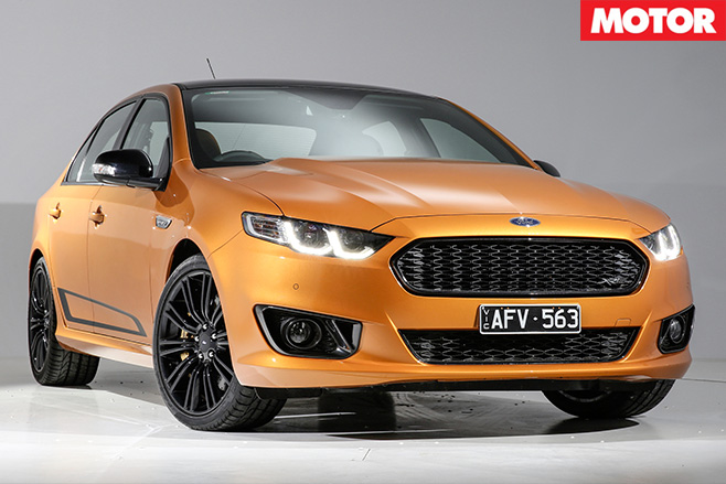 Ford FG X falcon XR8 sprint