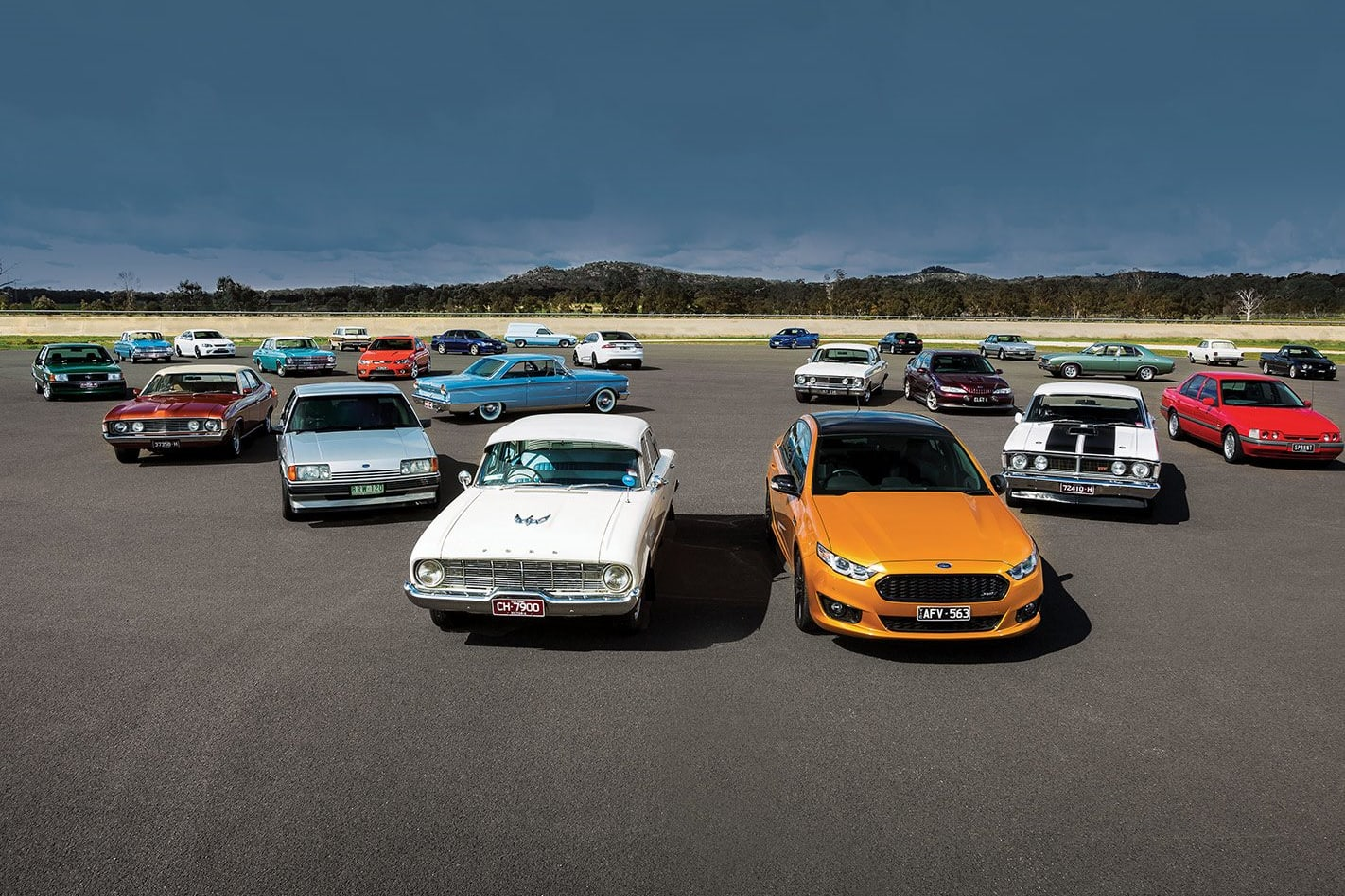 Ford Falcon Lineup B Jpg