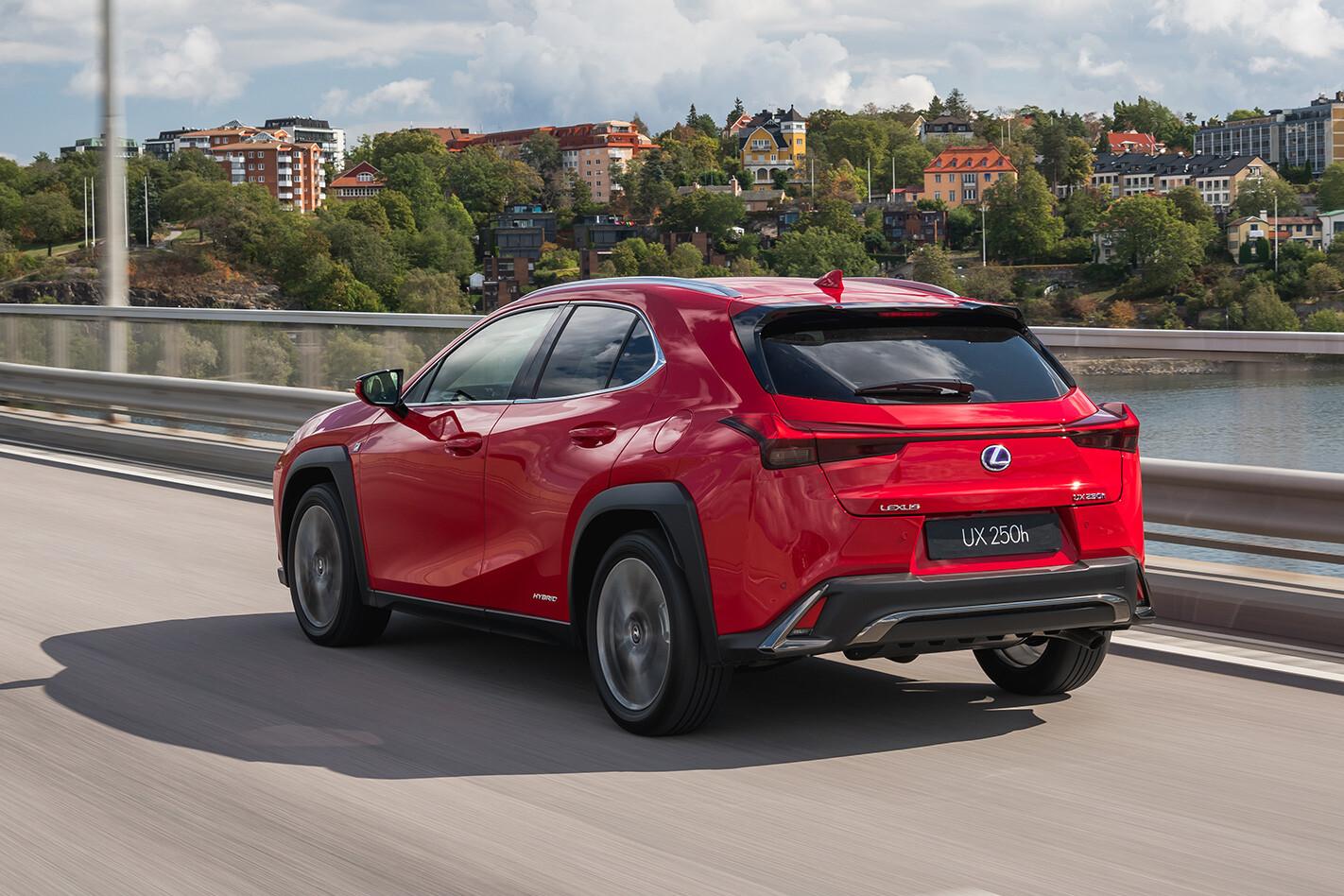 Lexus Ux Rear Jpg