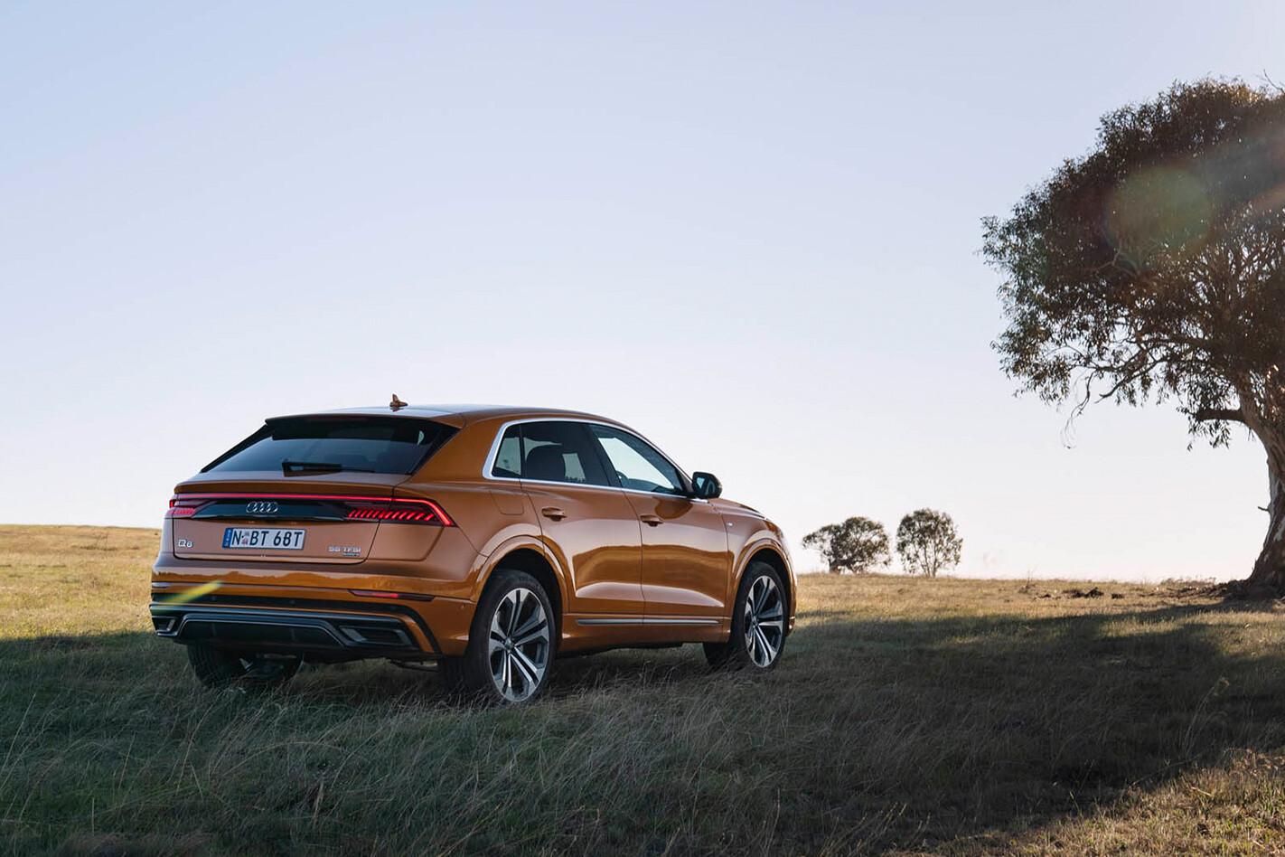 Audi Q 8 Rear Qtr Jpg