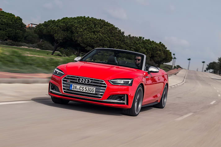 2017 Audi S5 Cabriolet first drive review
