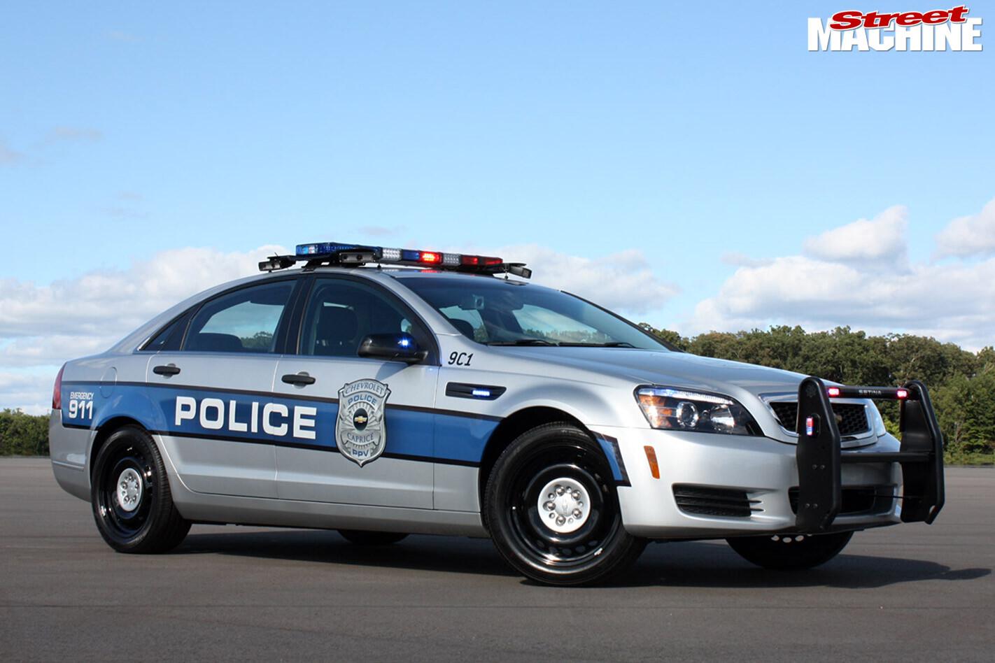 chev caprice police car