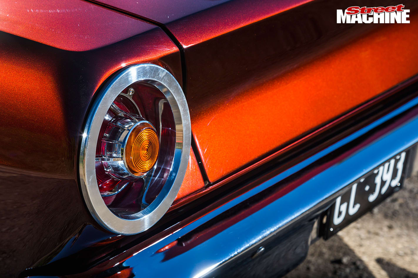 Ford -Falcon -XR-taillight