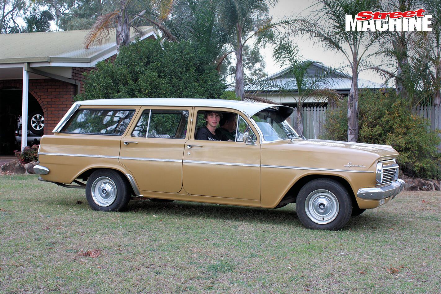 Kieran Robinson's EH Holden wagon