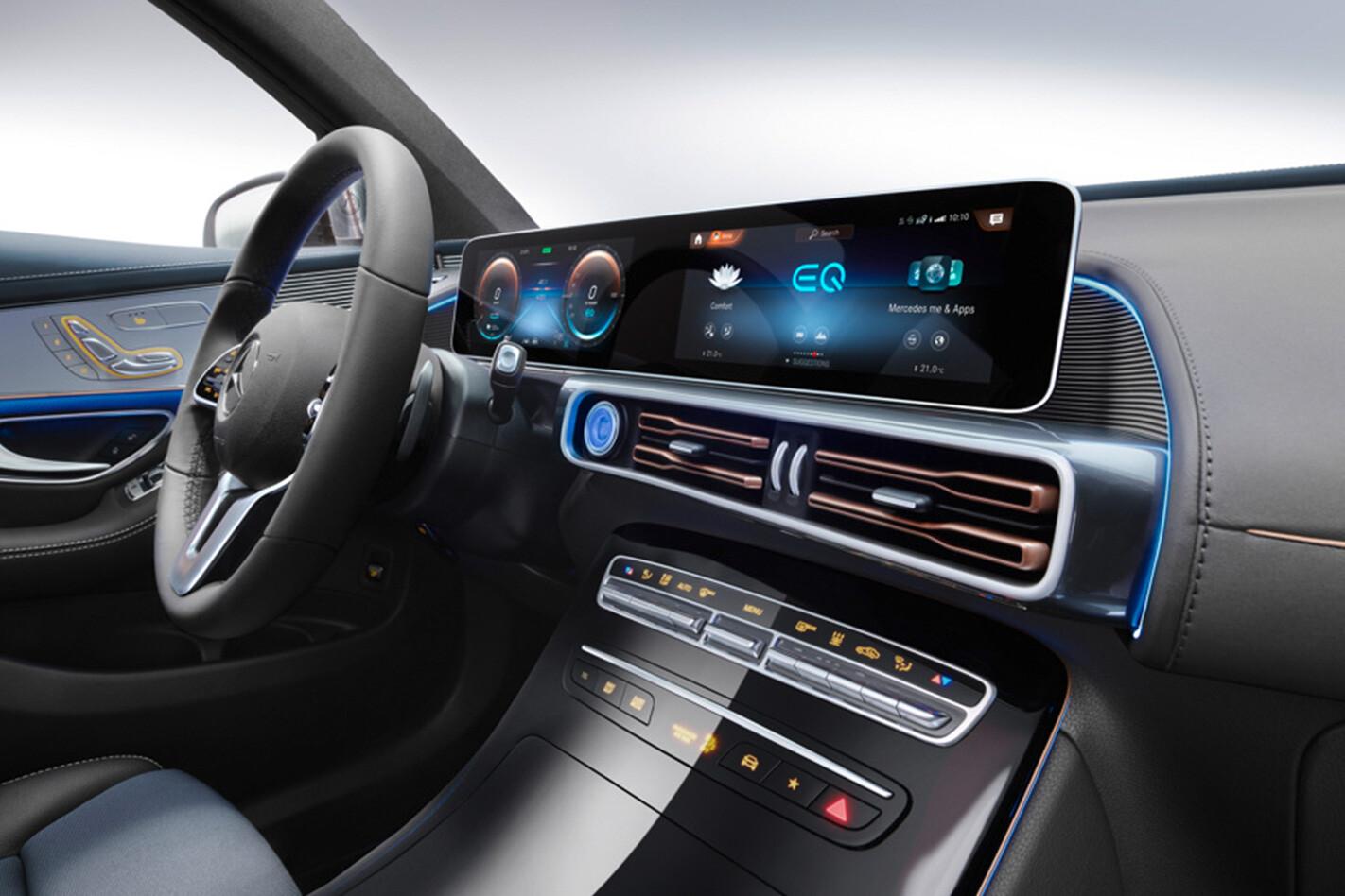 Mercedes Benz Eqc Interior Jpg