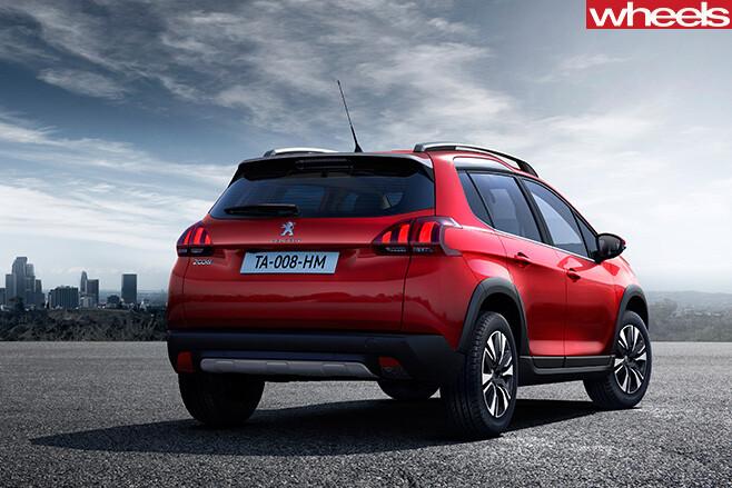 Peugeot -2008-allure -rear