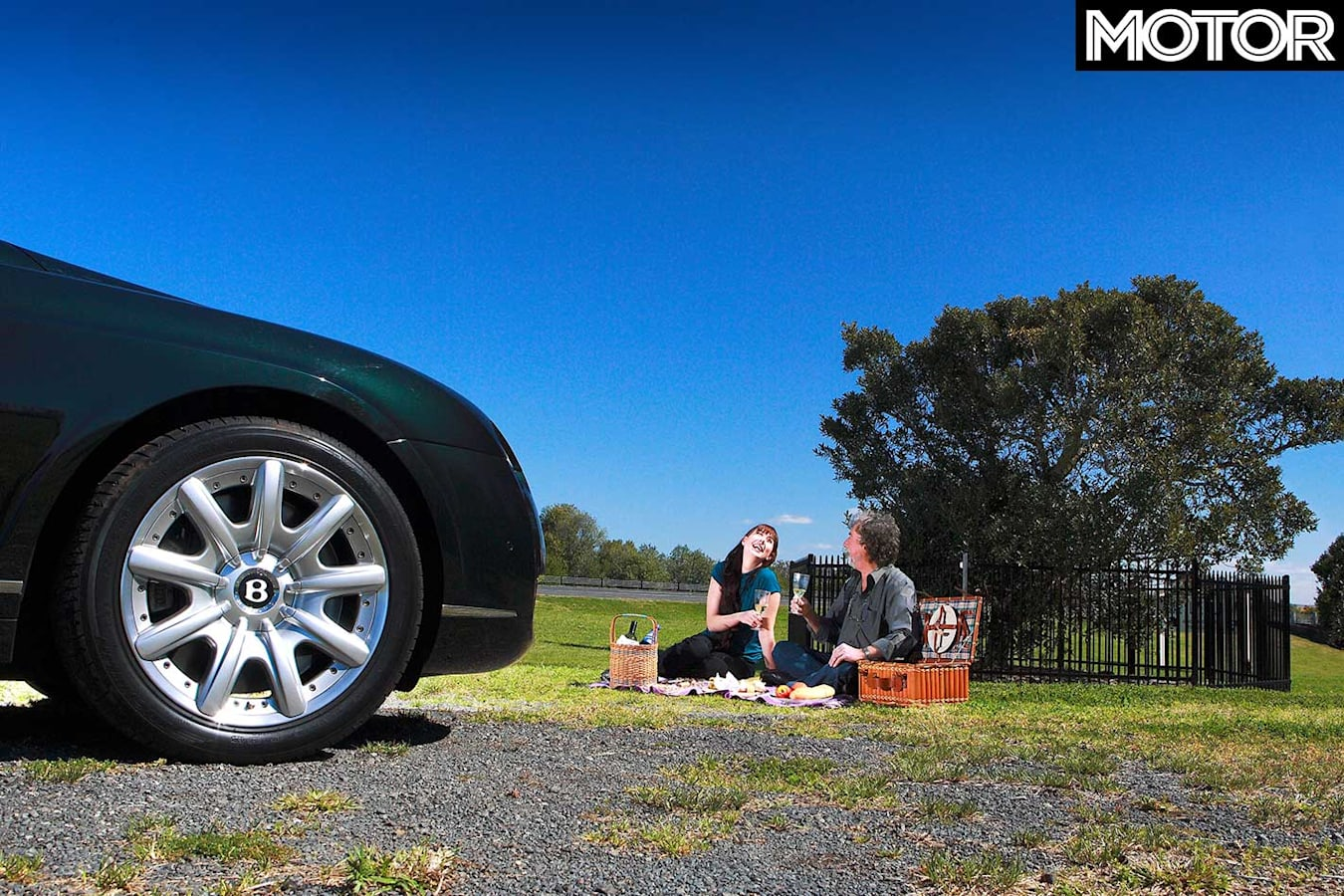 Experiencing The Supercar Club In A 2008 Bentley Continental GT Picnic Jpg