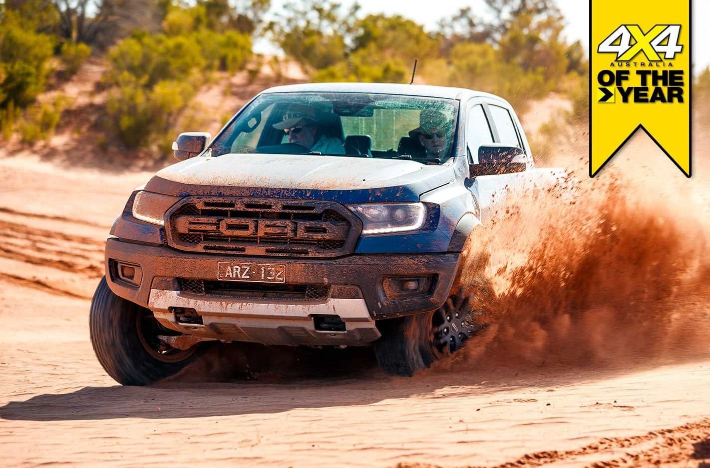 Ford Ranger Raptor 2019 4x4 of the Year contender