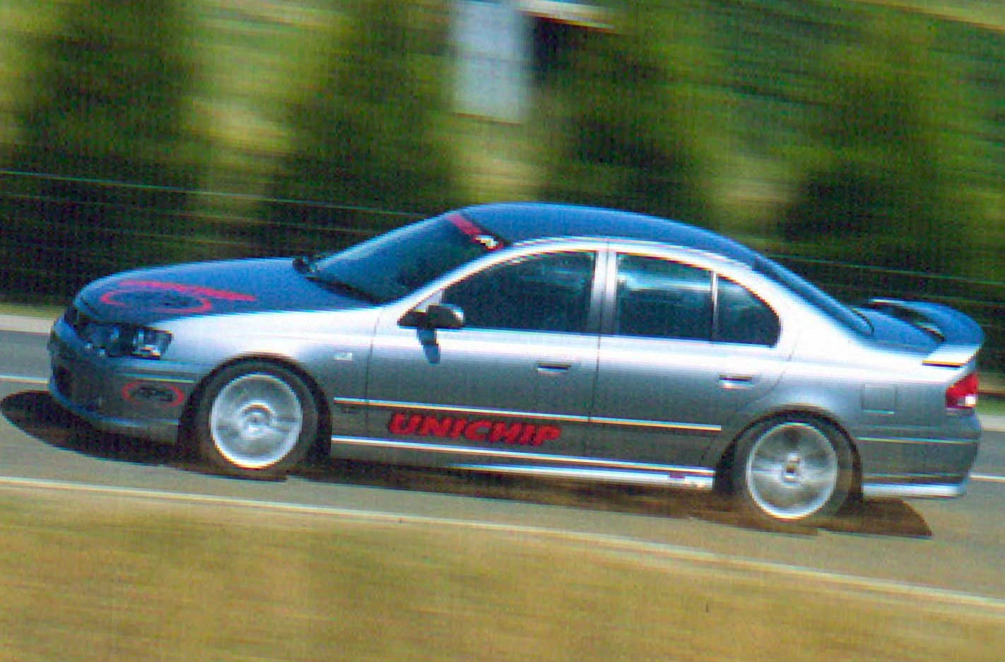 2004 APS Falcon Phase III XR6T review classic MOTOR