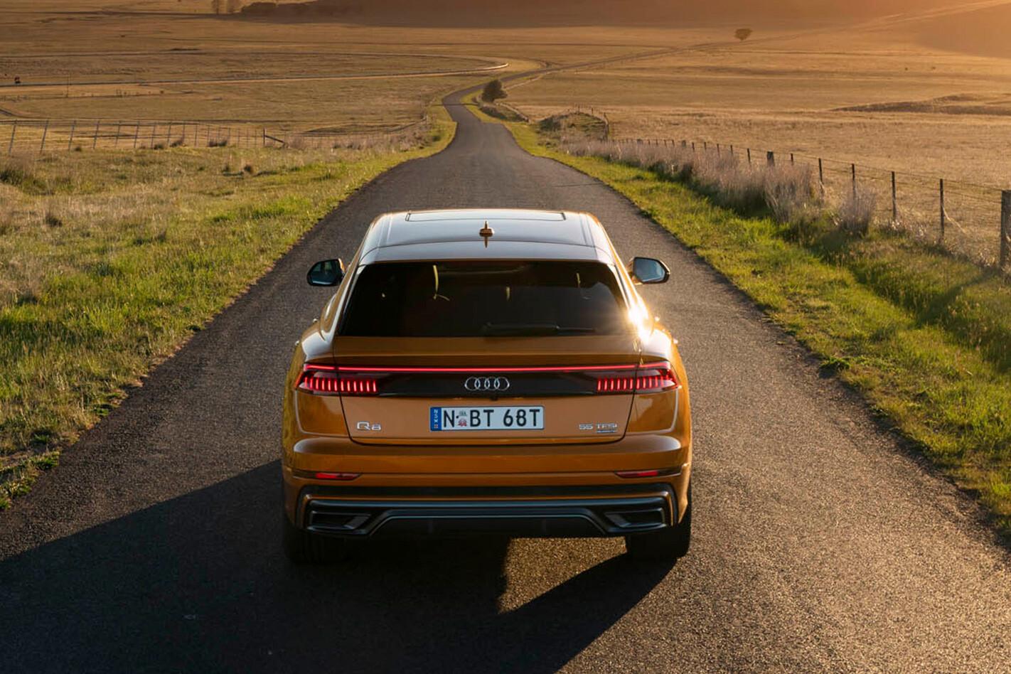 Audi Q 8 Rear Jpg