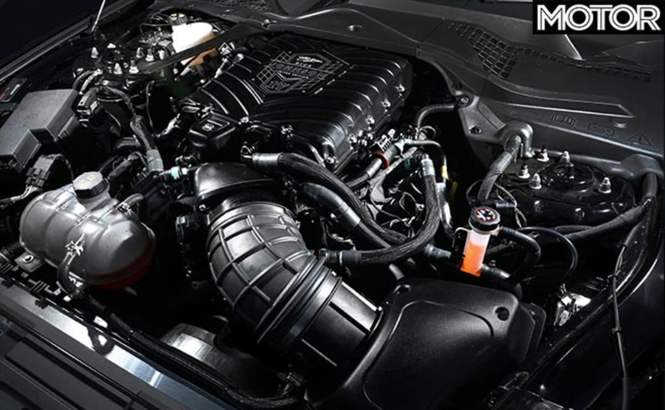 Mustang Dick Johnson Limited Edition engine