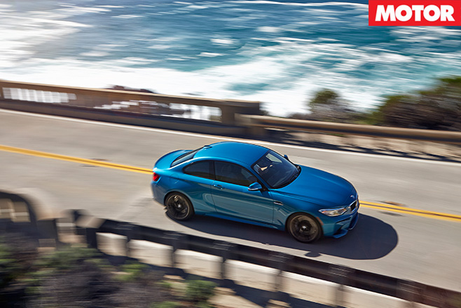 BMW M2 top views