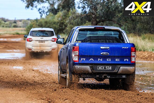 Ranger v everest rear driving