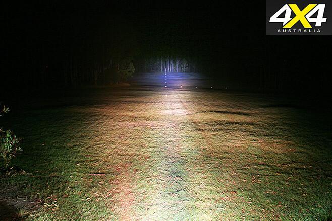 Big red 3 LED beam