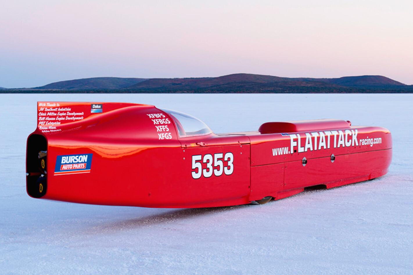 Mike Davidson salt racer