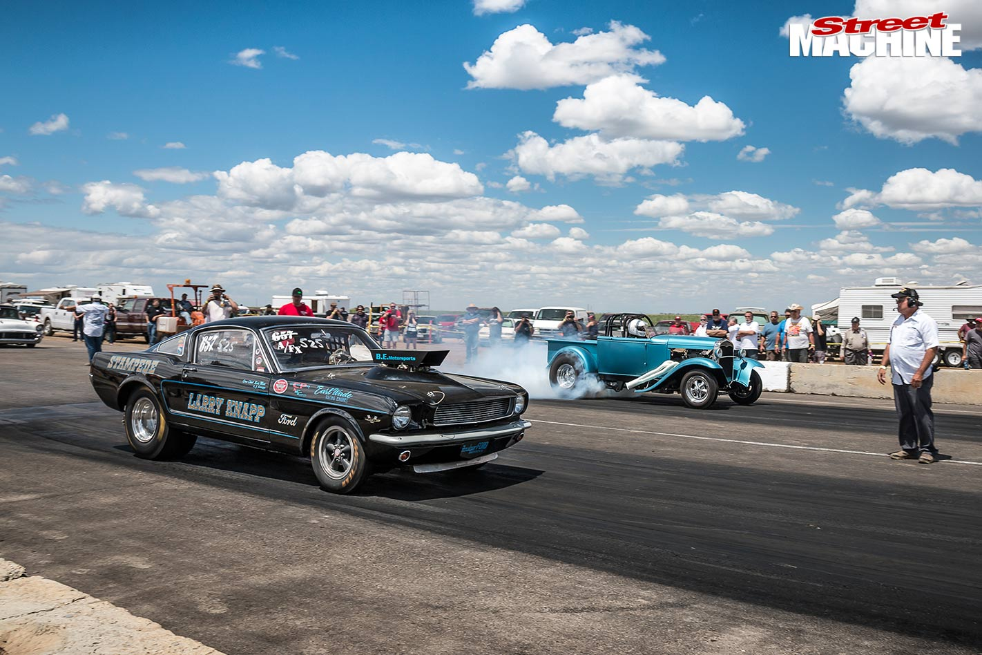 Eagle Field drags