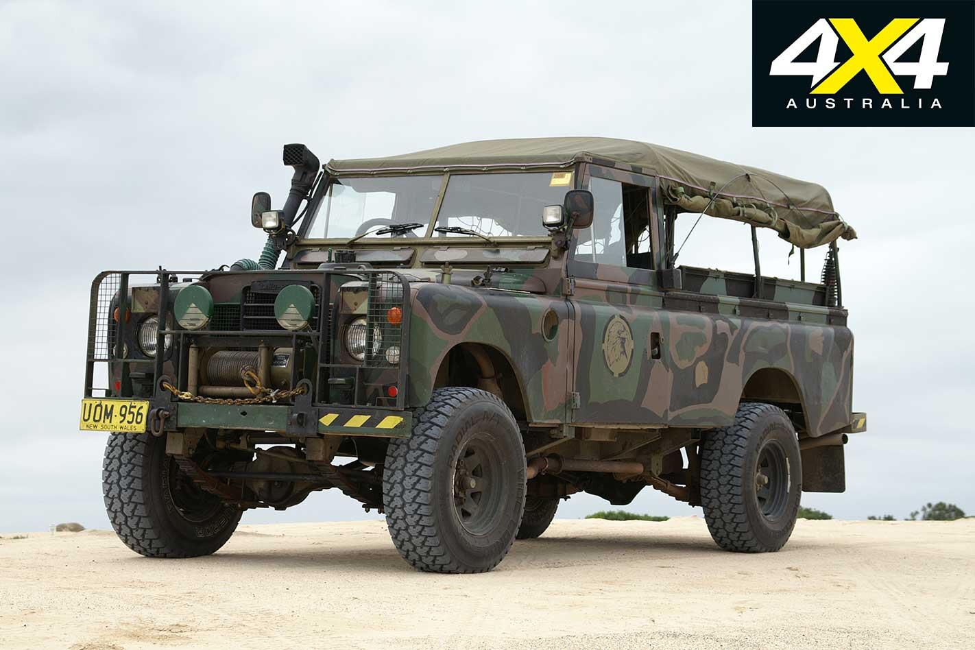 Ex Military Land Rover Series III Jpg