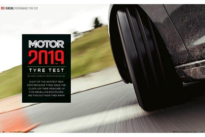 2019 Motor Magazine Tyre Test Jpg