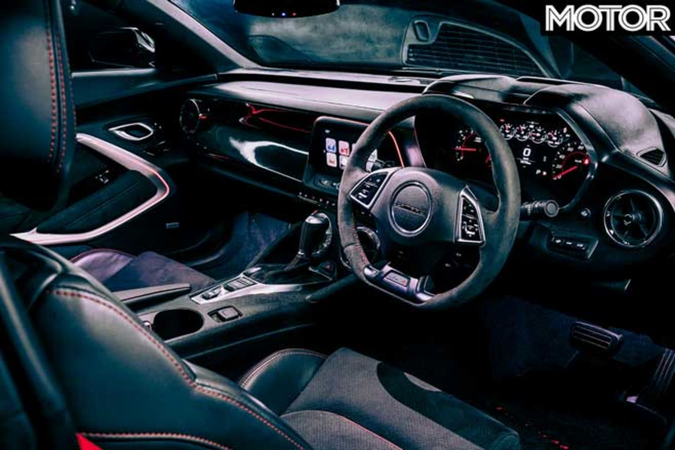 Hennessey Exorcist Right Hand Drive Version Interior Jpg