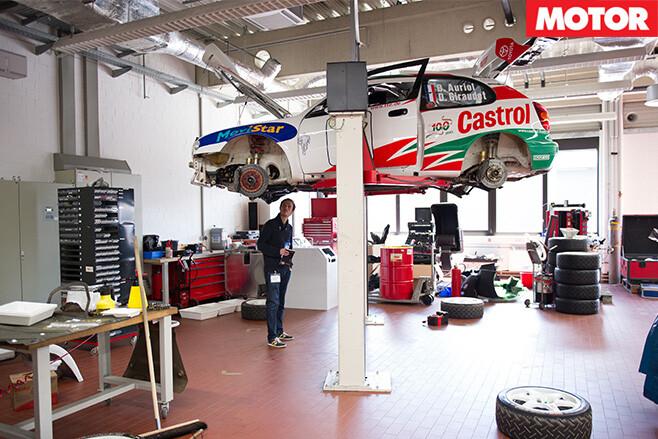 Toyota Motorsport garage