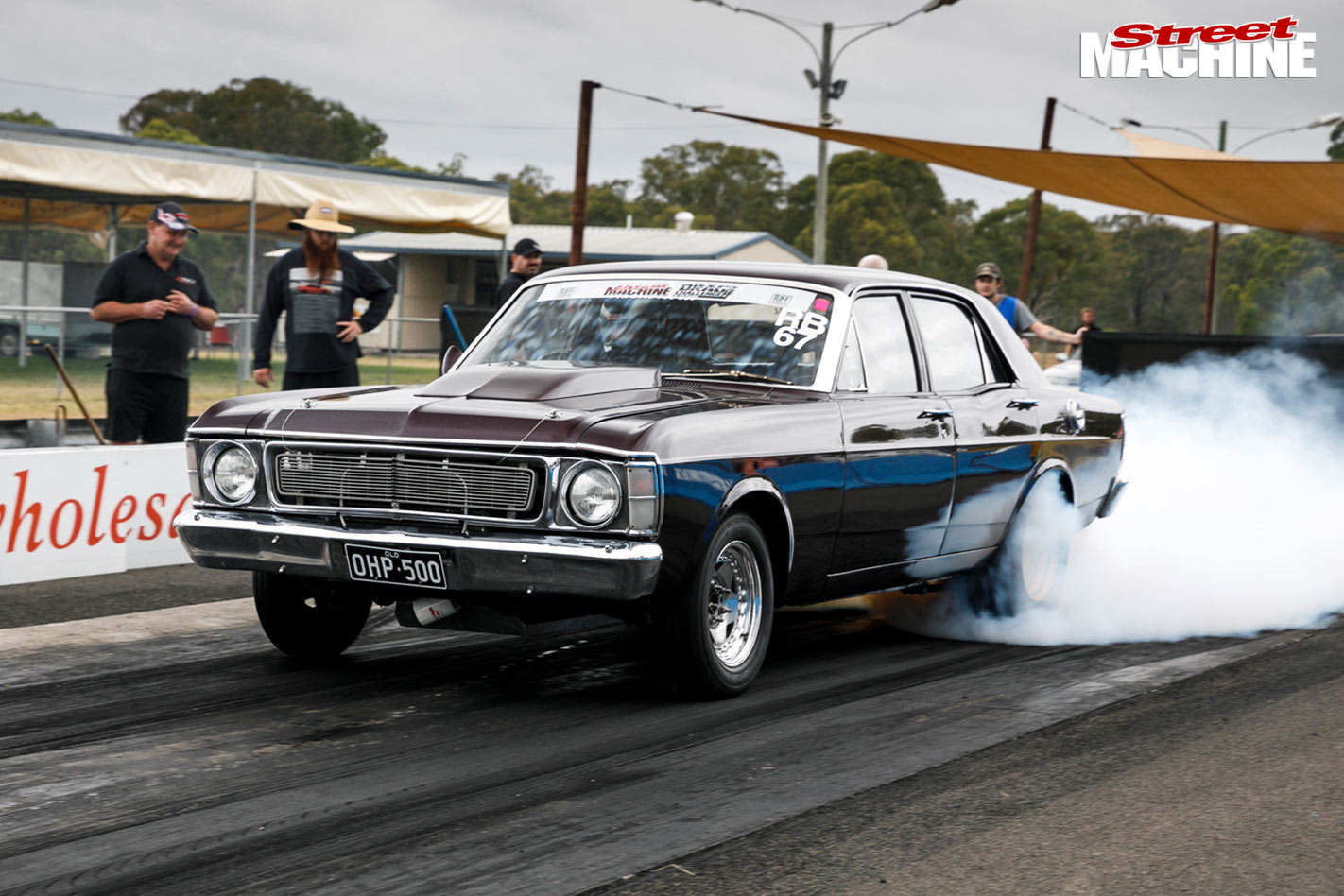Ford XW Falcon at Drag Challenge Weekend
