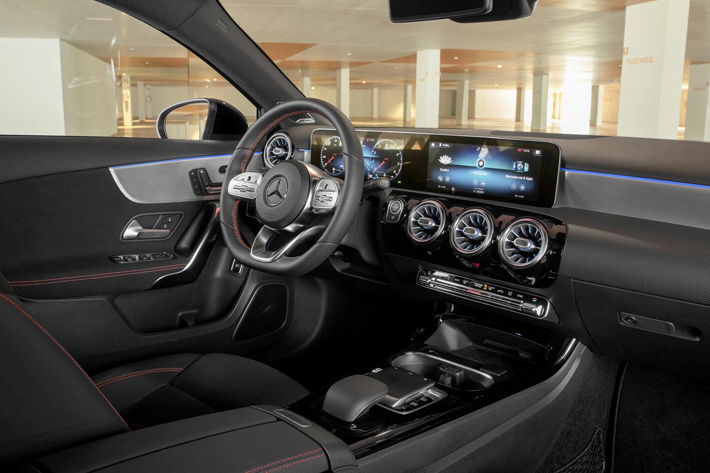 Mercedes-Benz A200 interior