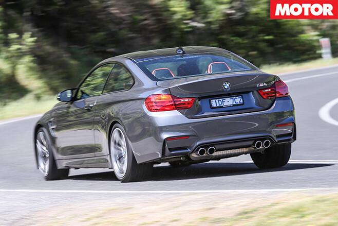 BMW M4 rear