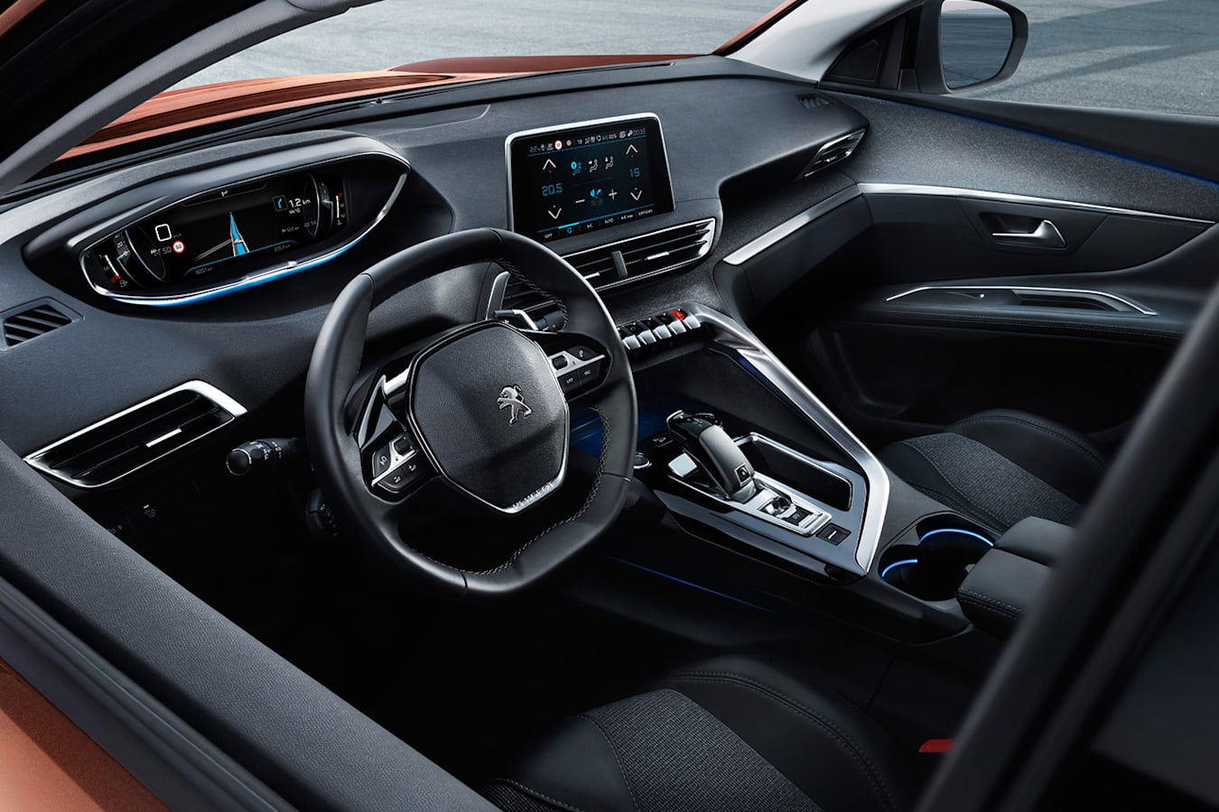Peugeot 3008 Interior Out Jpg