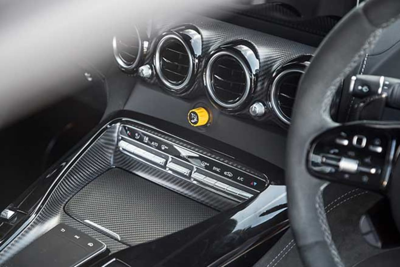 Mercedes-AMG's 10-stage traction control system.