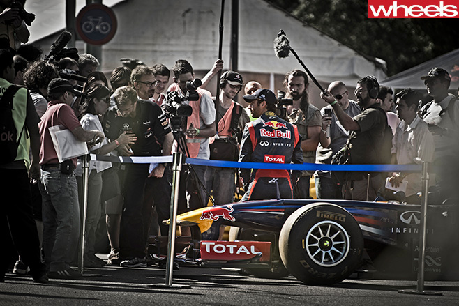 Daniel -Ricciardo -F1-interview -press