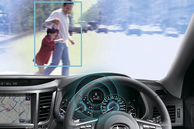 Subaru Eyesight AEB technology