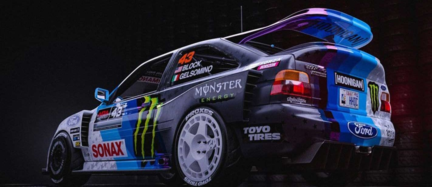 Ken Block new Ford Escort RS Cosworth revealed