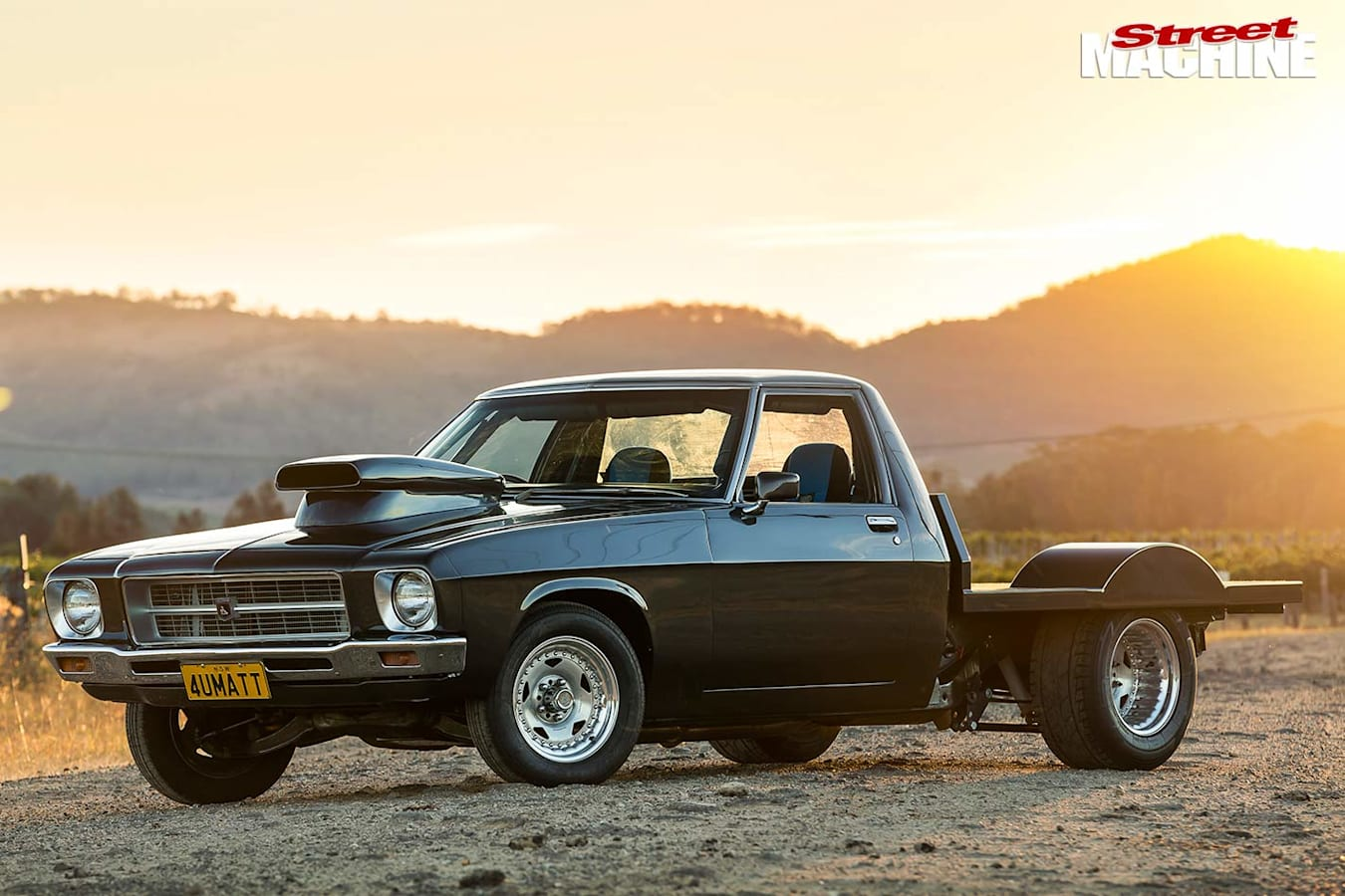Holden One Tonner front