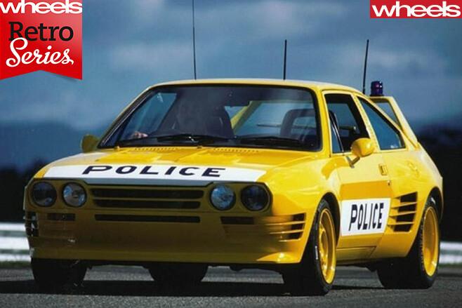 QLD-Police -Giocattolo -car
