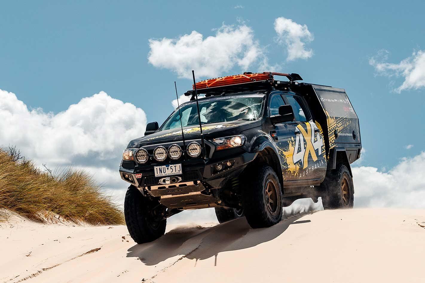 Ford Ranger in Tasmania