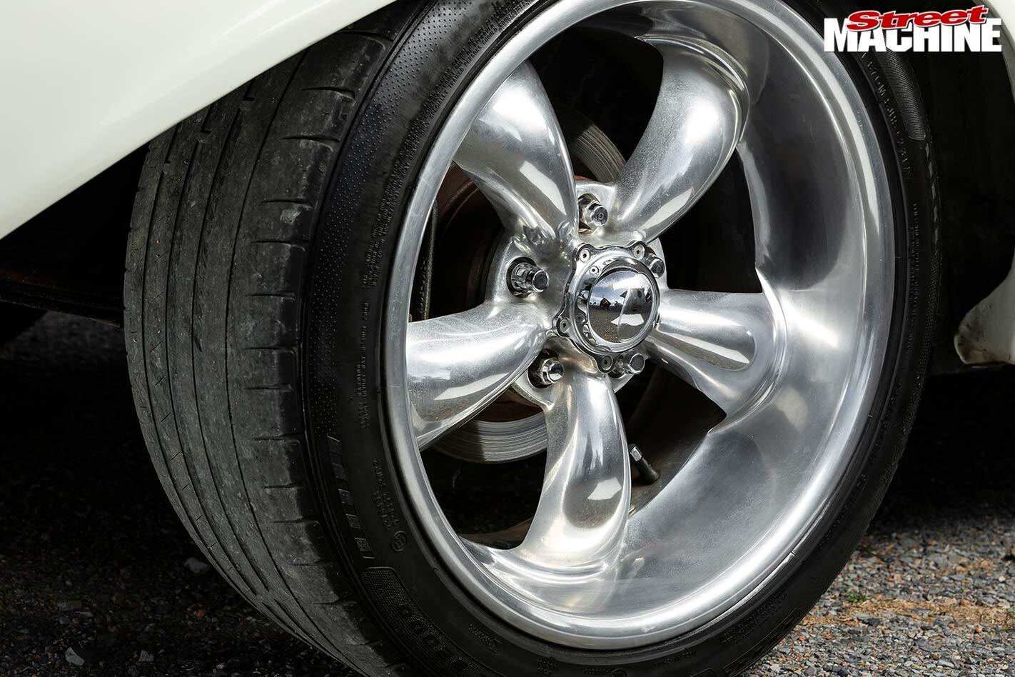 Holden EH panel van wheel