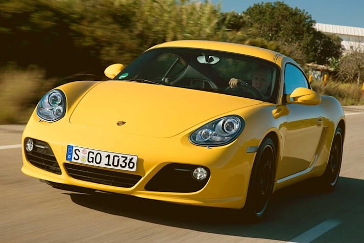 2009 Porsche Cayman S performance review