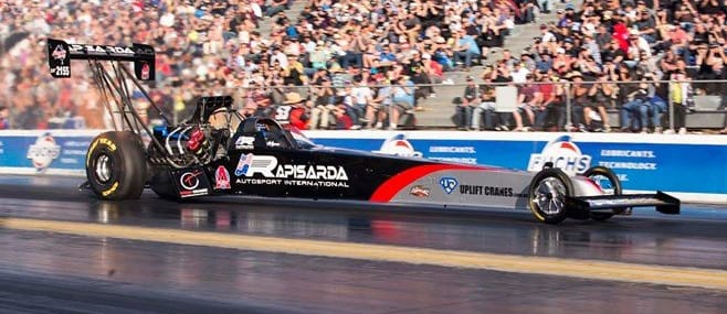 Top Fuel dragster ANDRA race