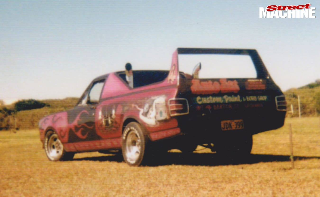 Stephen Wilson's Bewitched ute