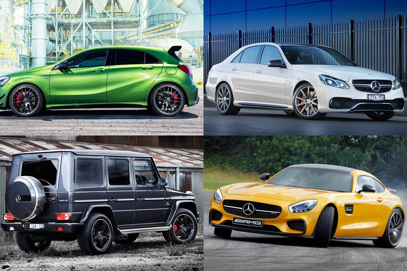 Full Mercedes-AMG range