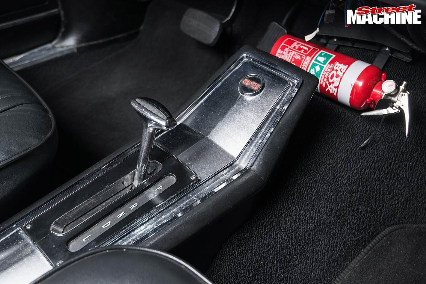 Chevy Nova console