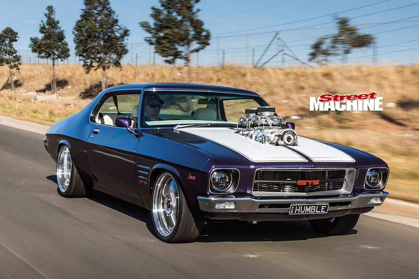 Holden HQ Monaro GTS onroad