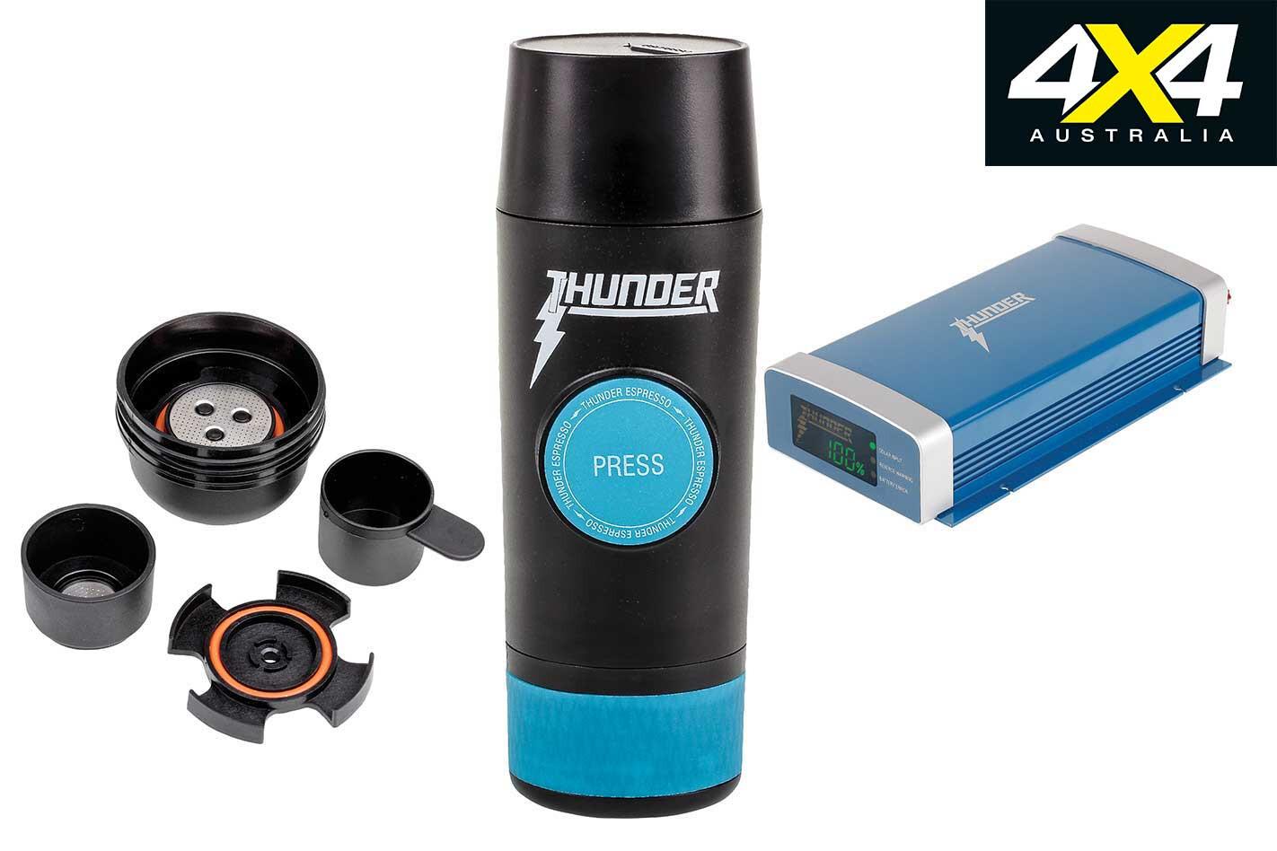 New 4 X 4 Gear Thunder Espresso Machine Jpg