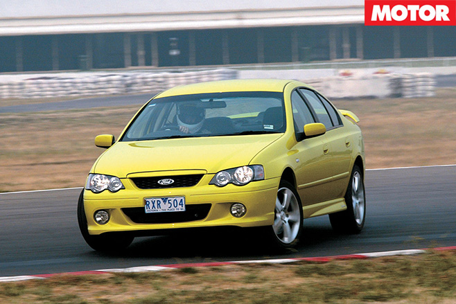 Ford -BA-Falcon -XR6-Turbo
