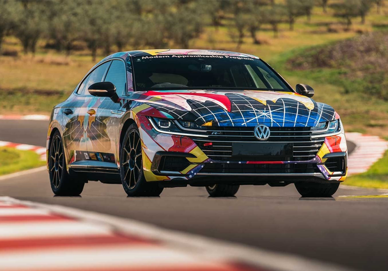 2018 Volkswagen Arteon time attack car performance review