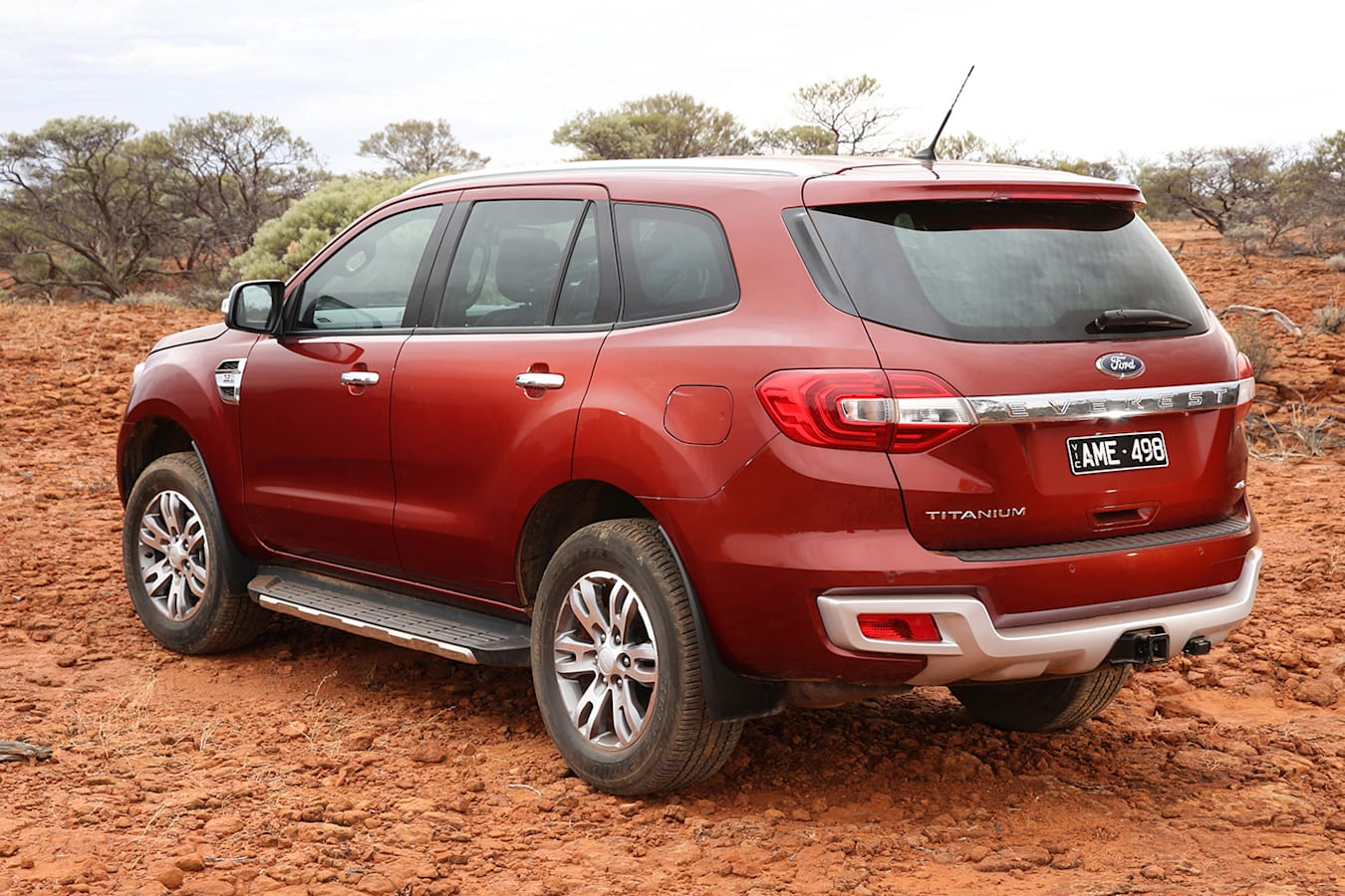 2018 Ford Everest rear